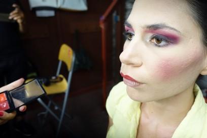 MAC Cosmetics Arena Verona Festival Lirico make up backstage 1