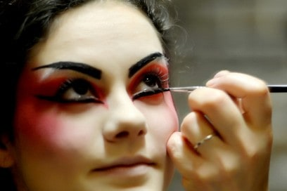 MAC Cosmetics Arena Verona Festival Lirico make up backstage 6