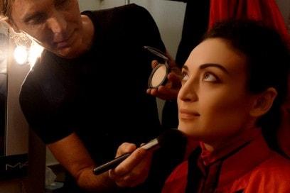 MAC Cosmetics Arena Verona Festival Lirico make up backstage Michele Magnani 1