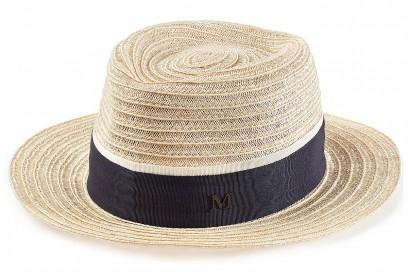 MAISON MICHEL cappello paglia