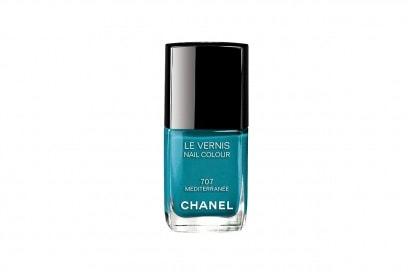 OCEAN NAILS: Chanel Le Vernis Mediterranée 707