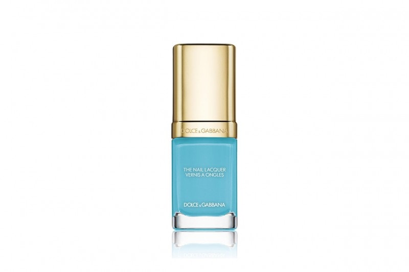 OCEAN NAILS: Dolce&Gabbana The Nail Lacquer Light Blue 717