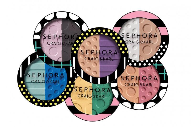 OMBRETTI ESTATE 2015: Sephora Craig & Karl Colorful Eyeshadow