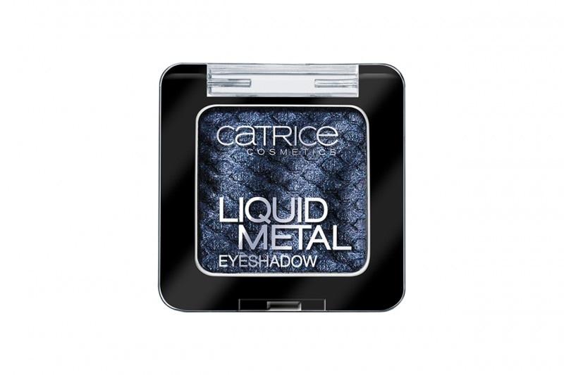 Ombretti per occhi neri: Catrice Liquid Metal Eyeshadow Underworld Evobluetion