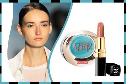Ombretto e rossetto abbinati: Chanel – Pupa