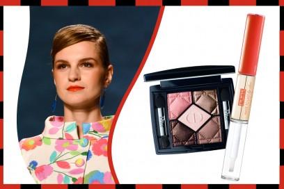 Ombretto e rossetto abbinati: Dior – Pupa