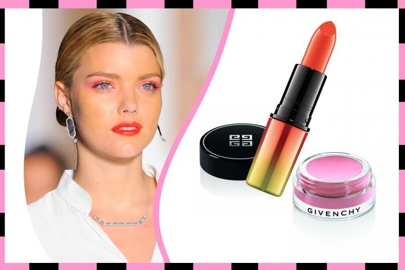 Ombretto e rossetto abbinati: Givenchy – Mac Cosmetics