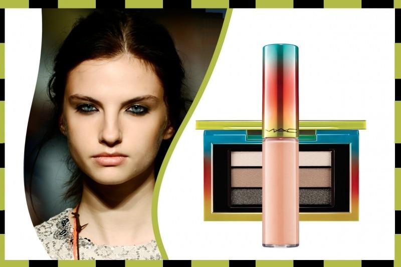 Ombretto e rossetto abbinati: Mac Cosmetics