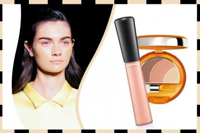 Ombretto e rossetto abbinati: Mac Cosmetics – Collistar