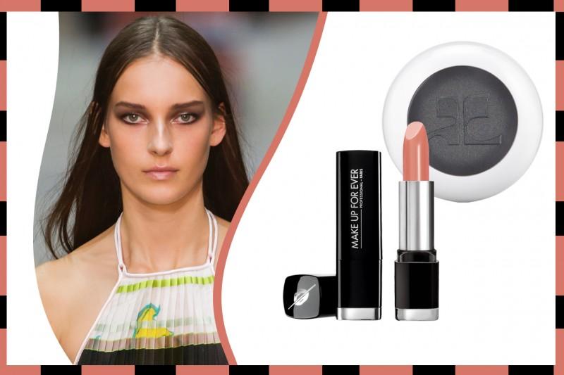 Ombretto e rossetto abbinati: Make Up For Ever – Estée Lauder