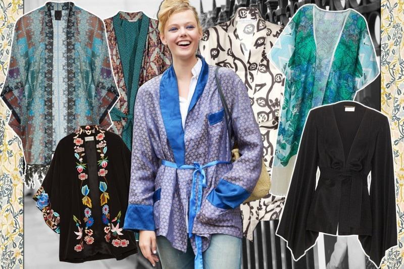 Per l'estate 2015 la vestaglia kimono è tendenza