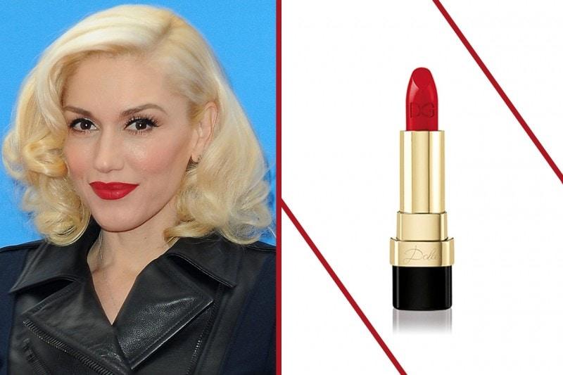 Rossetto rosso carnagione: pelle chiara e capelli biondi