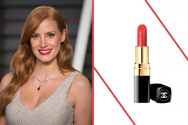Rossetto rosso carnagione: pelle chiara e capelli rossi