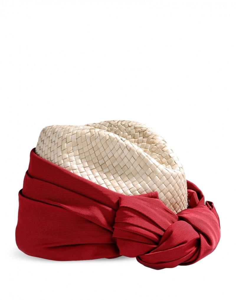 SUPER DUPER HAT con fiocco rosso