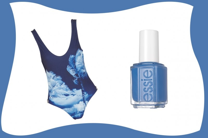 SWIMSUIT & MATCHY NAILS: Orlebar Brown + Essie