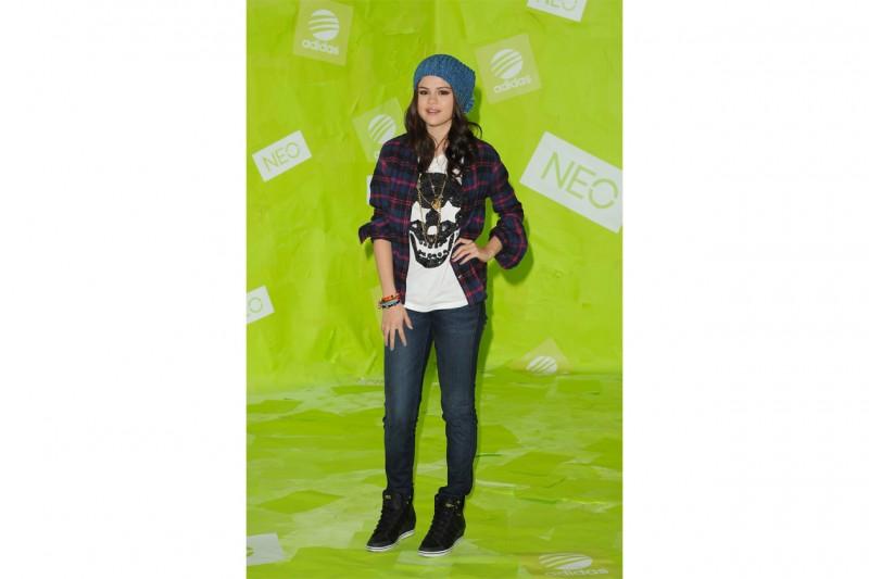 Selena Gomez: Teen look