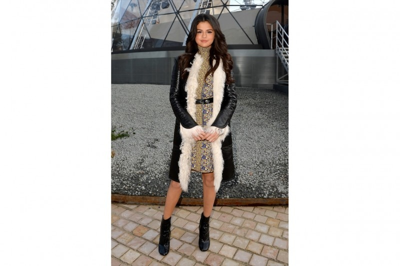 Selena Gomez: sophisticated match