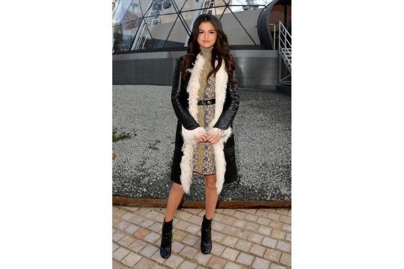 Selena Gomez: sophisticated match