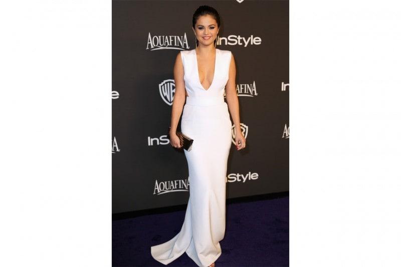 Selena Gomez: white lady in KaufmanFranco