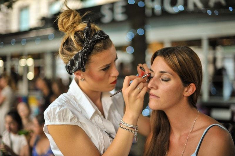 #SephoraBeautyToGo: il make up occhi di Giorgia