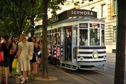#SephoraBeautyToGo: il tram firmato Sephora