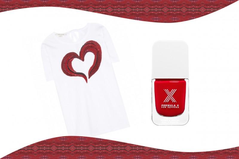 Smalti e T-Shirt abbinati: Formula X