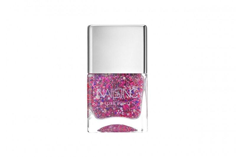 Smalti glitter: Nails Inc Notting Hill Lane