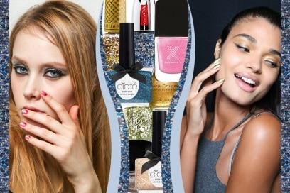 Smalti glitter: i colori dell'Estate 2015