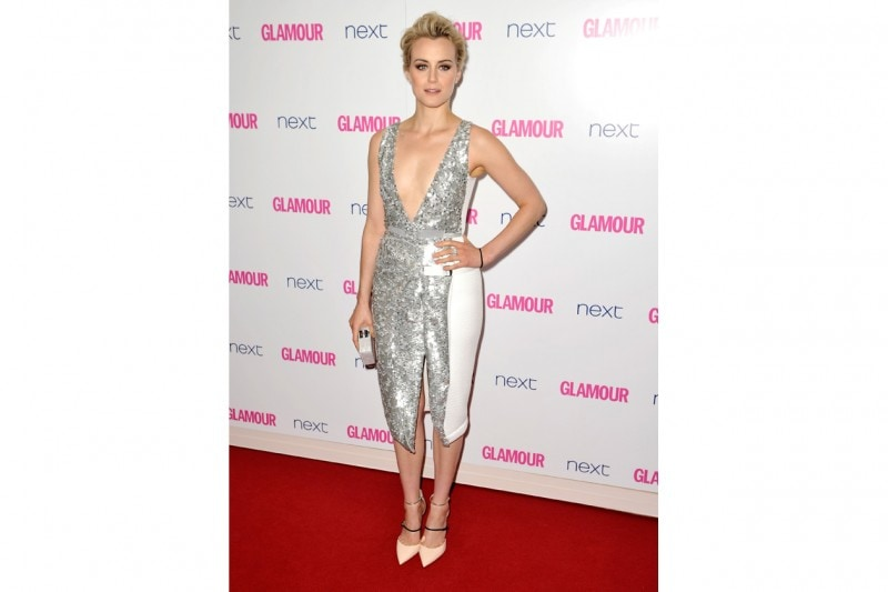 TAYLOR SCHILLING LOOK: IN PETER PILOTTO GLITTER