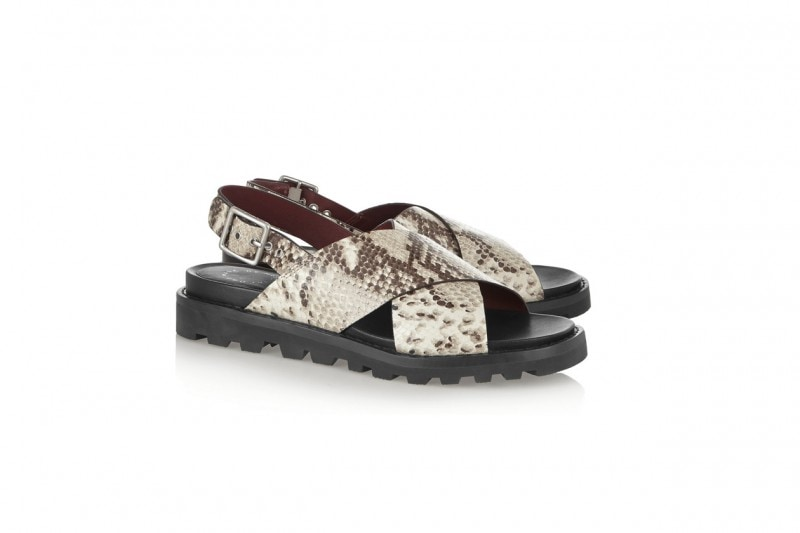 TENDENZA ANIMALIER: SANDALI MARC BY MARC JACOBS