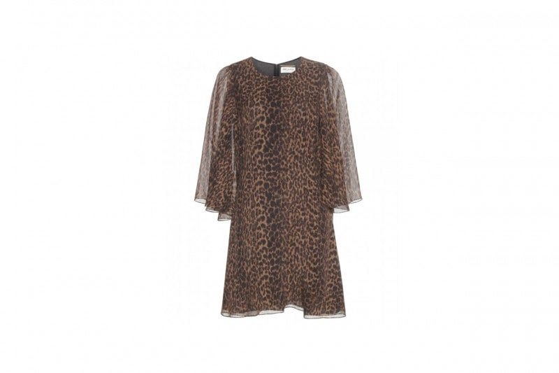 TENDENZA ANIMALIER: VESTITO SAINT LAURENT