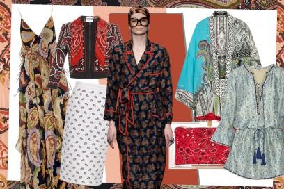 Tendenza moda primavera-estete 2015: la stampa paisley