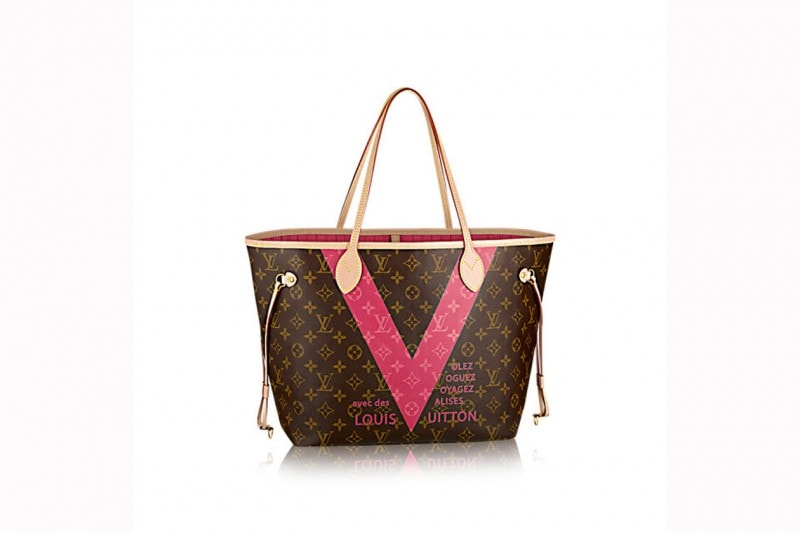 WEB louis vuitton neverfull mm monogram v grenade