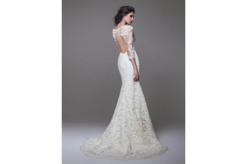 Abito da sposa a sirena scollato dietro – Modelli alla moda di abiti ... 9b3289255dd