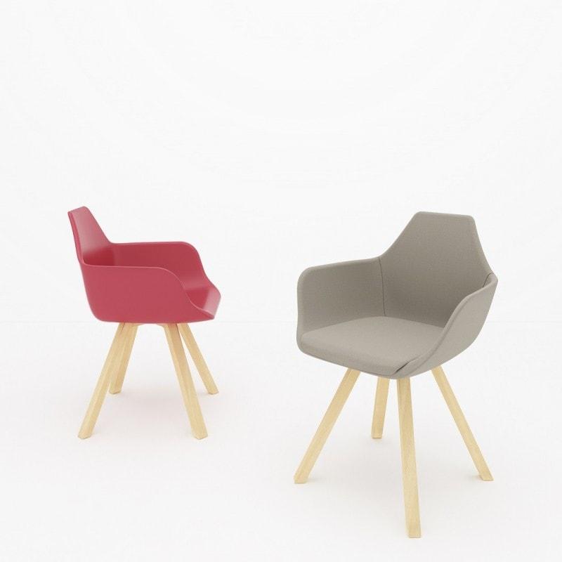 La collezione di sedute Y di Alma Design