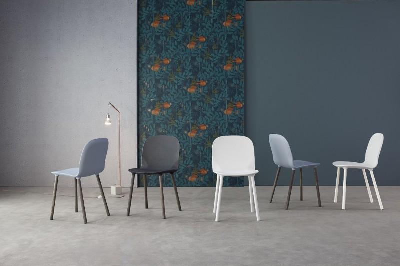 La sedia Napi di Bonaldo