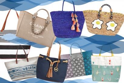 borse da spiaggia: i modelli più belli dell'estate