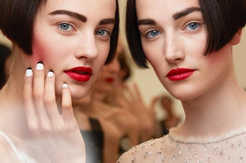 Chanel Haute Couture A/I 2015-2016: gote e labbra in primo piano