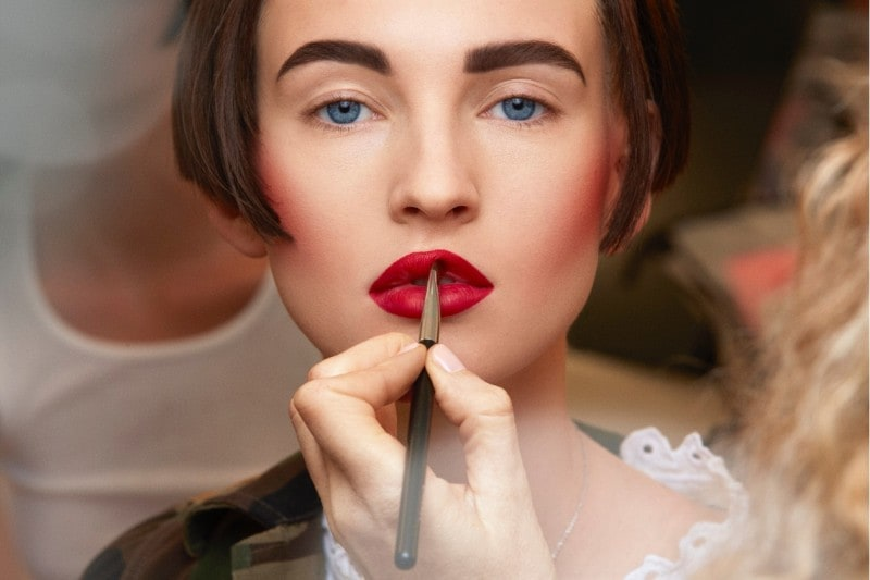 Chanel Haute Couture A/I 2015-2016: bocca disegnata