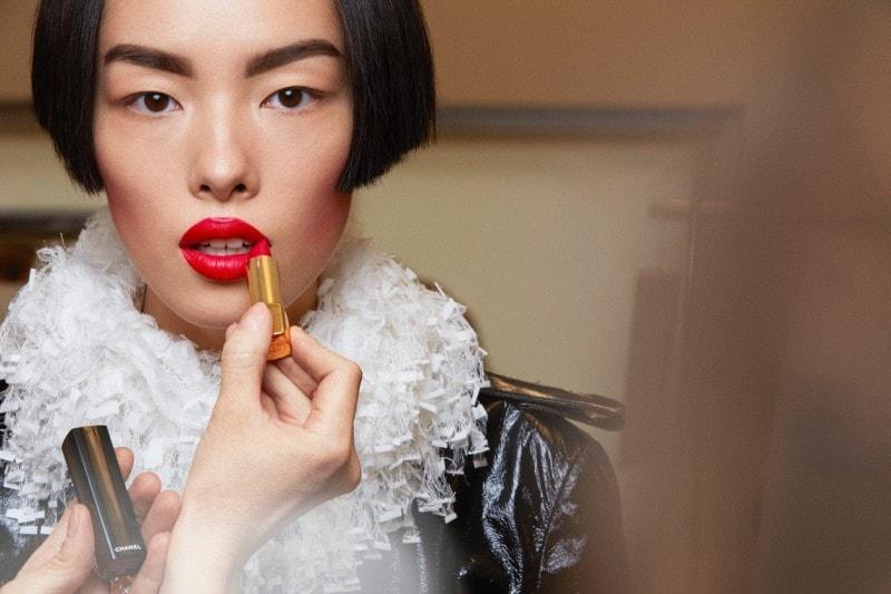 Chanel Haute Couture A/I 2015-2016: bocca full color