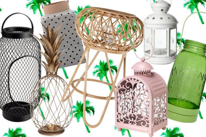 Illuminare il giardino con le lanterne