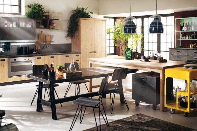 Stile industriale: le cucine più belle