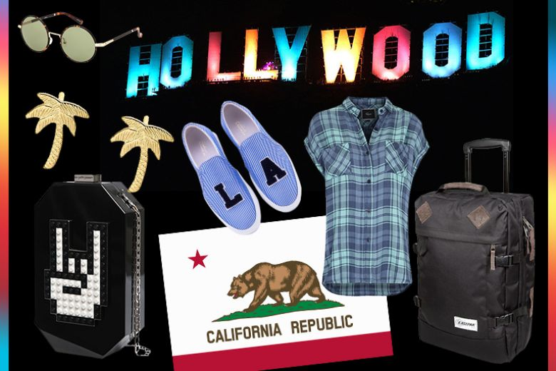 La valigia per le vacanze a Los Angeles