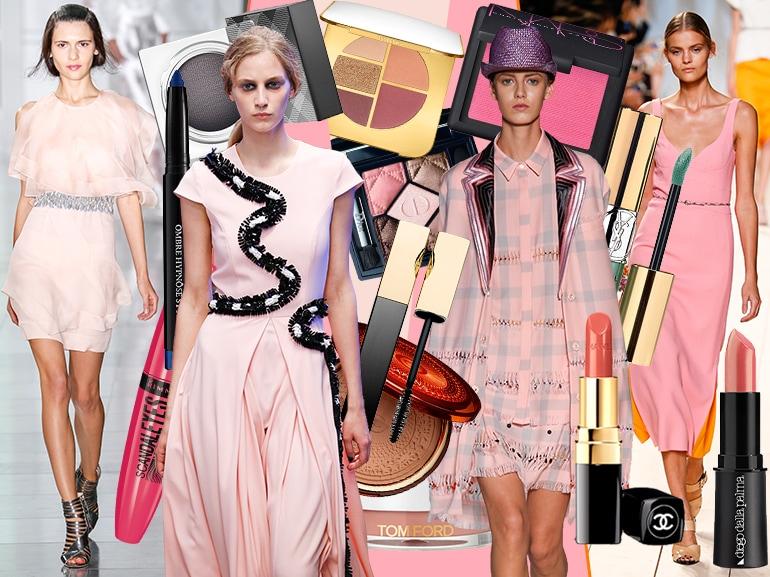 cover mobile abiti rosa e make up