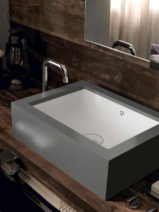 DuPont Corian collezione lavabi Refresh