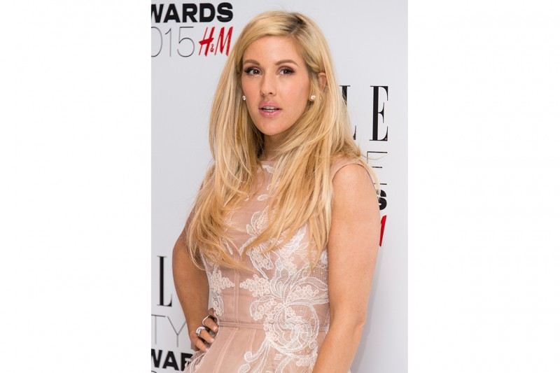 Ellie Goulding trucco: occhi al naturale