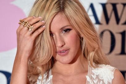 Ellie Goulding trucco: ciglia definite