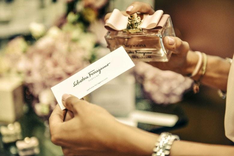 L'evento Ferragamo dedicato alle fragranze Signorina