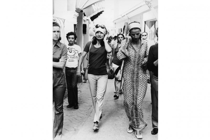 look capri: Jacqueline Kennedy