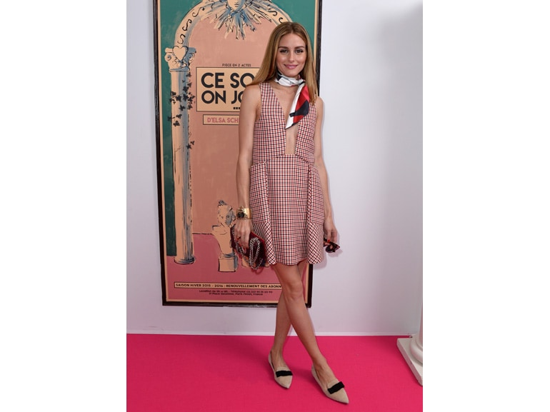 olivia palermo in dior getty